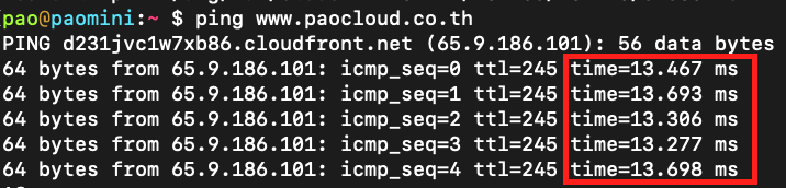 aws-cloudfront-ping